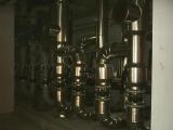 válvulas aisladas y chapa de aluminio