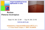 Tixotrópicas-Impermeabilización contínua