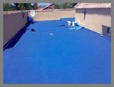Impermeabilzación- Terraza impermeabilizada color