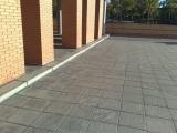 Impermeabilización y pavimentado